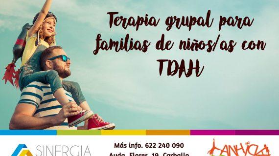 Terapia grupal para familias de niños/as con TDAH